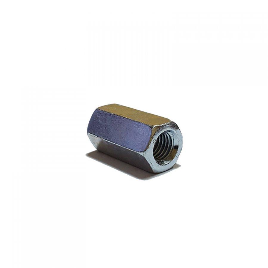 Гайка соединительная (переходная) DIN 6334 М 6х10х18 мм