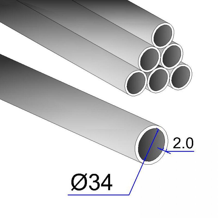 Труба бесшовная холоднодеформированная 34х2