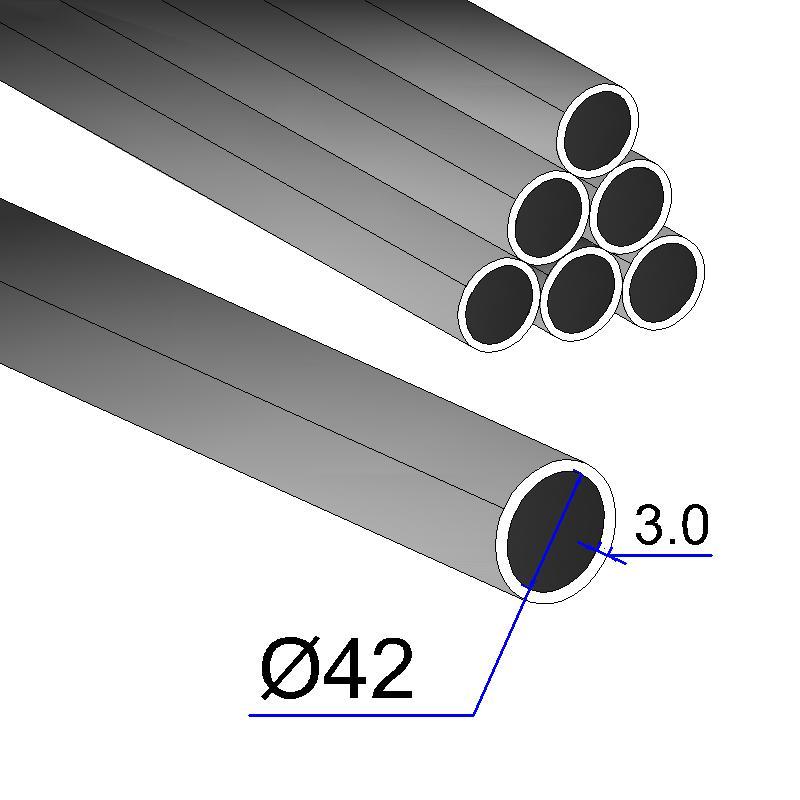 Труба электросварная 42х3,0