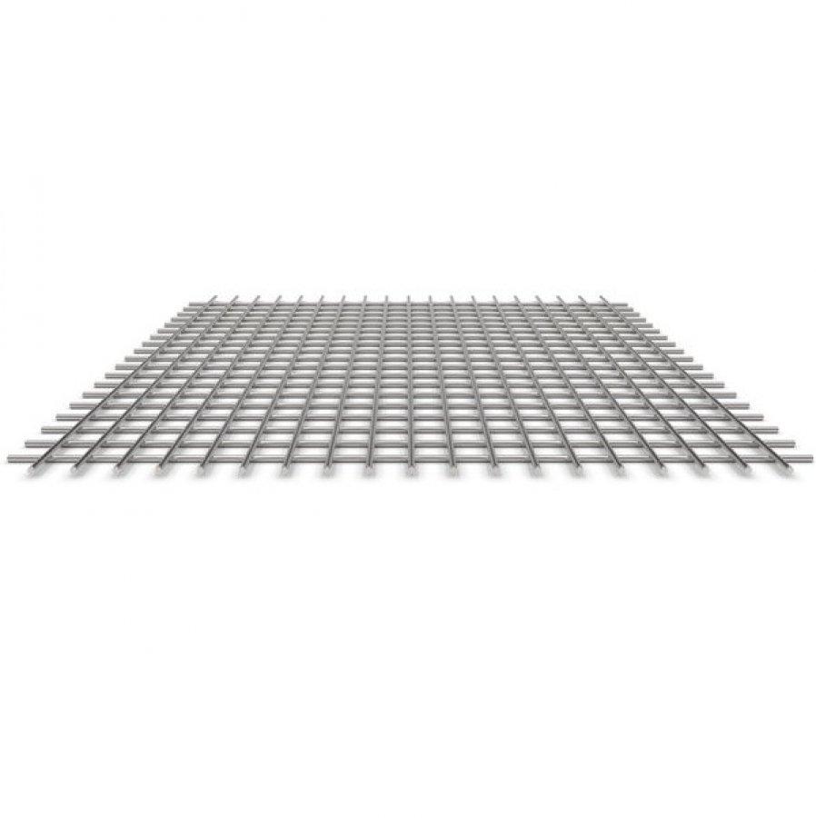 Сетка сварная оцинкованная 50х50х3 мм - 2х3 м