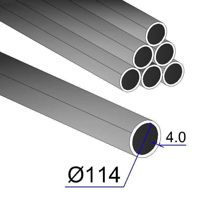 Труба электросварная 114х4,0