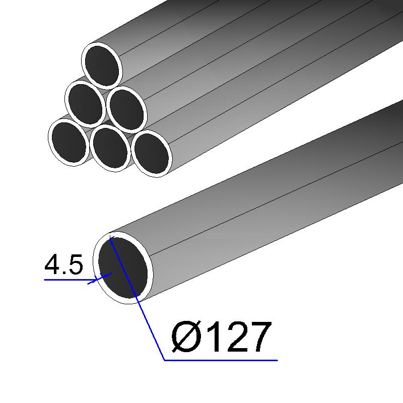 Труба электросварная 127х4,5