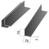 Уголок стальной 75x75х7