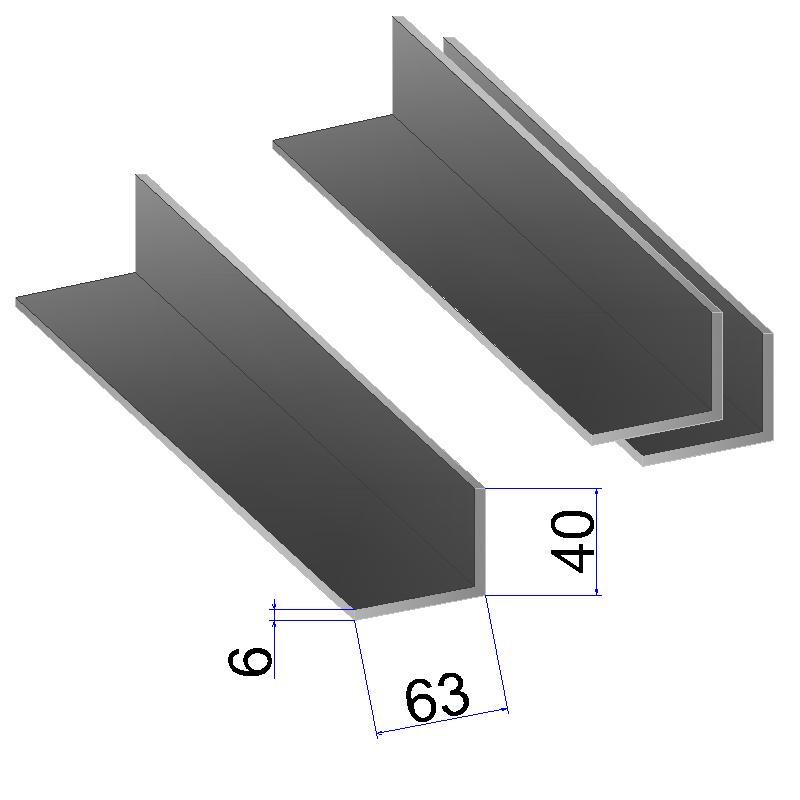 Уголок стальной, металлический уголок - Металл-СК