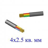 Кабель ВВГ 4х2,5 кв.мм (ож)-0,66