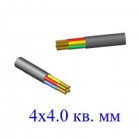 Кабель ВВГ 4х4,0 кв.мм (ож)-0,66