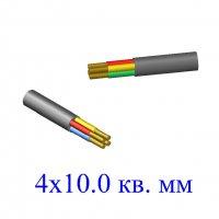 Кабель ВВГ 4х10,0 кв.мм (ож)-0,66