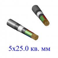 Кабель ВБбШв 5х25,0 кв.мм-0,66