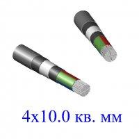 Кабель АВБбШв 4х10,0 кв.мм (ож)-0,66