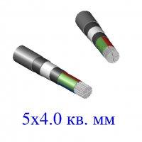 Кабель АВБбШв 5х4 кв.мм (ож)- 0.66