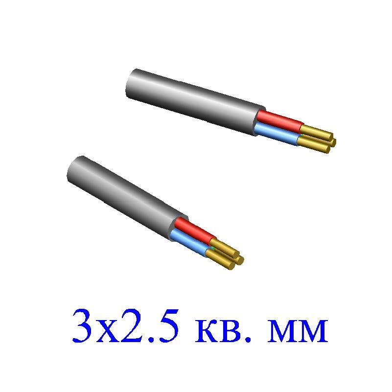 кабель nym j num j 3х1.5 м ту тэк 00000007567