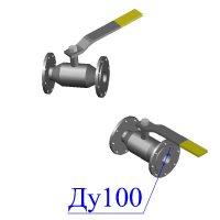 Кран 11с38п Ду 100-100