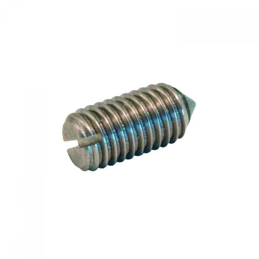 Винт установочный, острый конец, прям/шлиц M 3х5 DIN 553 А1