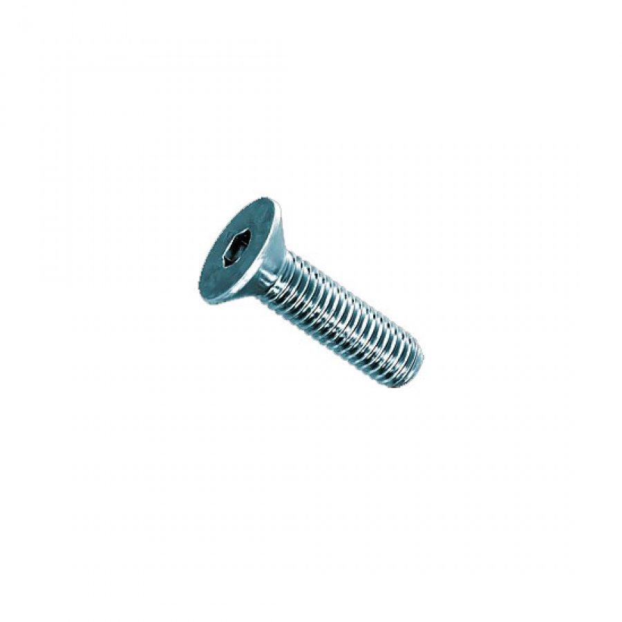 Винт с потайной головкой внутр/шестигранник M 6х18 DIN 7991 А2
