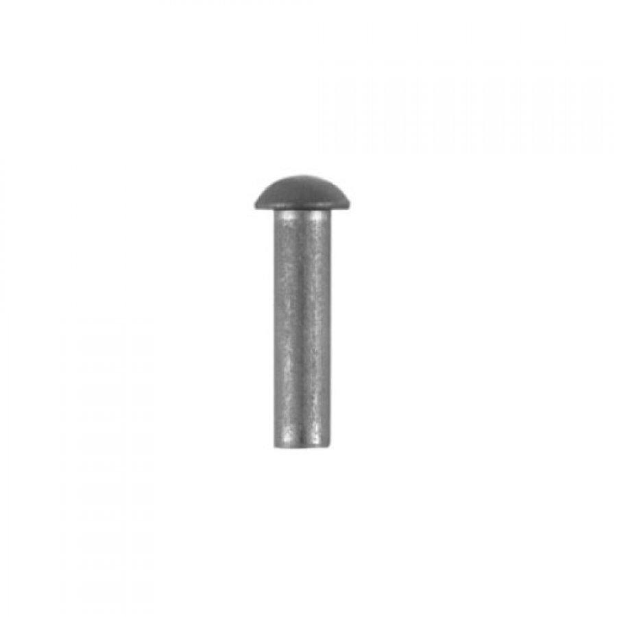 Заклепка под молоток с полукруглой головкой 2х6 DIN 660 А2