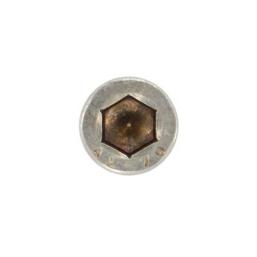 Саморез с цилиндрической головкой, внутр/шестигранник B 6,3х45 А2 ART 9051