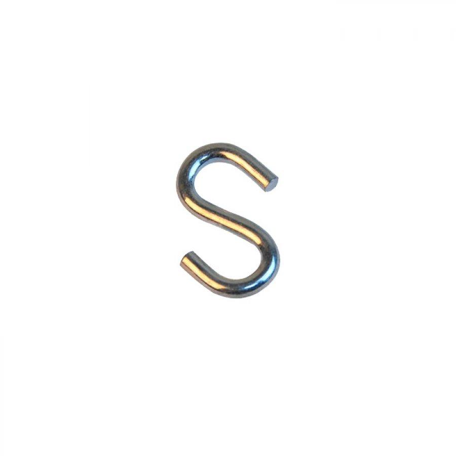 Крюк S-образный симметричный 8 мм А2 ART 814070