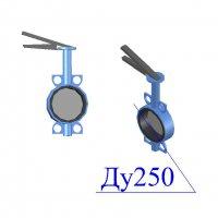 Затвор поворотный дисковый межфланцевый ЗПД Ду-250