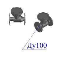 Клапан 19с53нж Ду 100