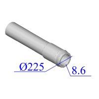 Труба НПВХ напорная 225х8,6