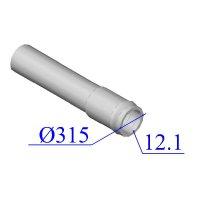 Труба НПВХ напорная 315х12,1