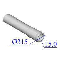 Труба НПВХ напорная 315х15