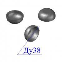 Заглушка стальная 38х2-3