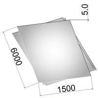Лист стальной нержавеющий AISI 316Ti х/к 5х1500х6000