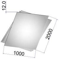 Лист стальной нержавеющий AISI 321 г/к 12х1000х2000