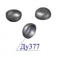 Заглушка стальная 377х10