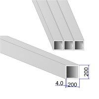 Труба квадратная AISI 304 DIN 2395 200х200х4