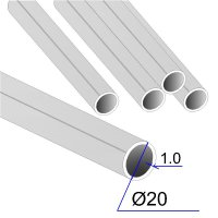 Труба круглая AISI 304 DIN 17457 20х1