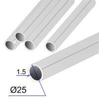 Труба круглая AISI 304 DIN 17457 зеркальная 25х1.5
