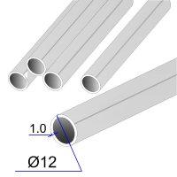 Труба круглая AISI 304 DIN 2463 зеркальная HF 12х1.5