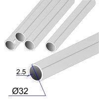 Труба круглая AISI 304 DIN 2463 зеркальная HF 32х2.5