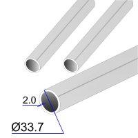 Труба круглая AISI 304L EN 10217-7 33.7х2