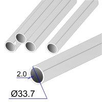 Труба круглая AISI 321 EN 10217-7 33.7х2