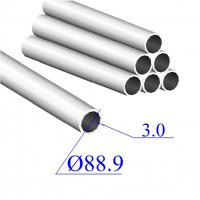 Труба круглая AISI 304 EN 10217-7 88.9х3 (Италия)
