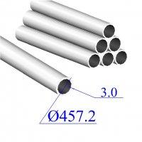 Труба круглая AISI 304 EN 10296-2 457.2х3 (Италия)