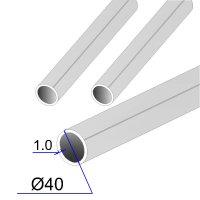 Труба круглая AISI 304 пищевая DIN 11850 40х1.5 (Италия)
