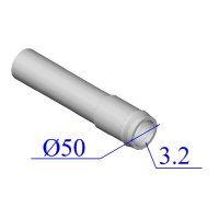 Труба НПВХ 50х3,2 для внутренней канализации