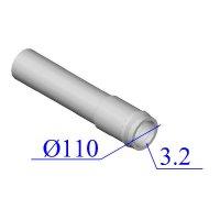 Труба НПВХ 110х3,2 для внутренней канализации
