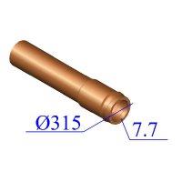 Труба НПВХ 315х7,7 для наружной канализации