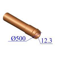 Труба НПВХ 500х12,3 для наружной канализации
