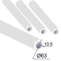Труба ПП D 63х10,5 PPRC