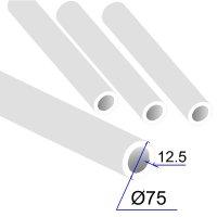 Труба ПП D 75х12,5 PPRC
