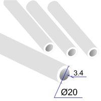 Труба ПП D 20х3,4 Армированная стекловолокном