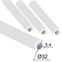 Труба ПП D 32х5,4 Армированная стекловолокном