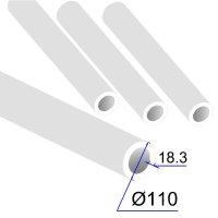 Труба ПП D 110х18,3 Армированная стекловолокном