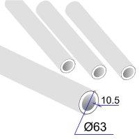 Труба ПП D 63х10,5 Армированная алюминиевой фольгой